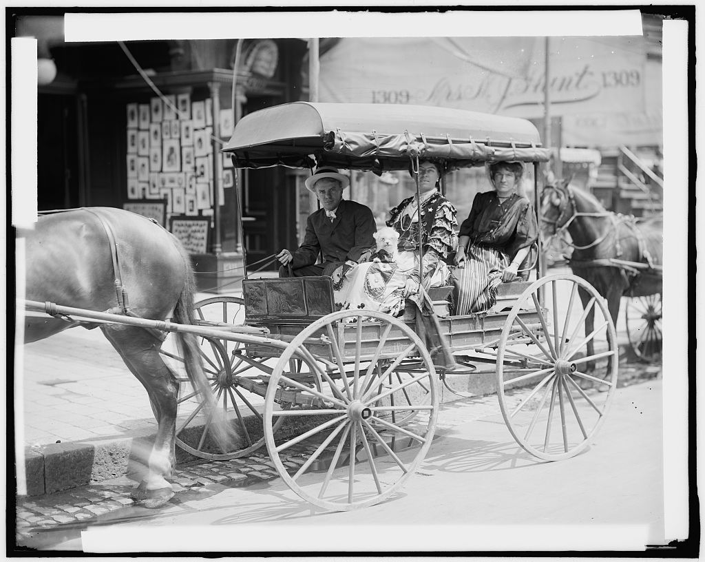 WOMEN IN CARRIAGE