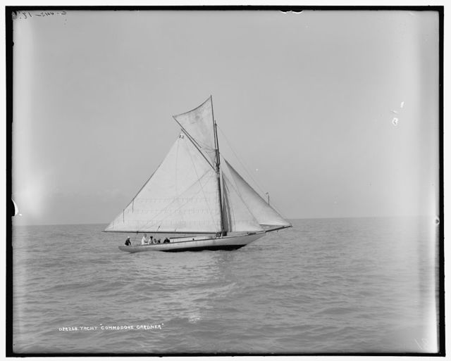 Yacht Commodore Gardner