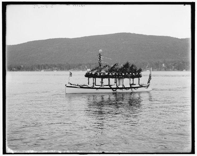 [Yacht Etto, Regatta Day, Fort Willam Henry Hotel, Lake George, N.Y.]