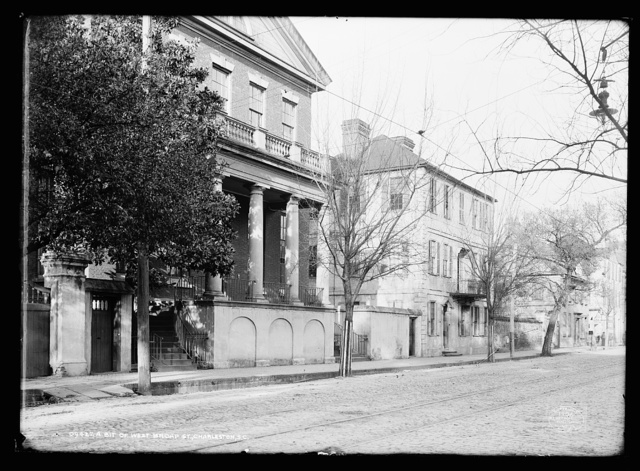 A bit of West Broad St. [Street], Charleston, S.C.