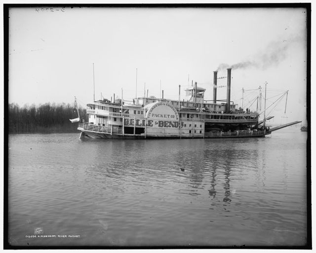 A Mississippi River packet