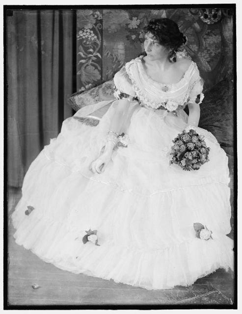 [A portrait of Miss Virginia Gerson]