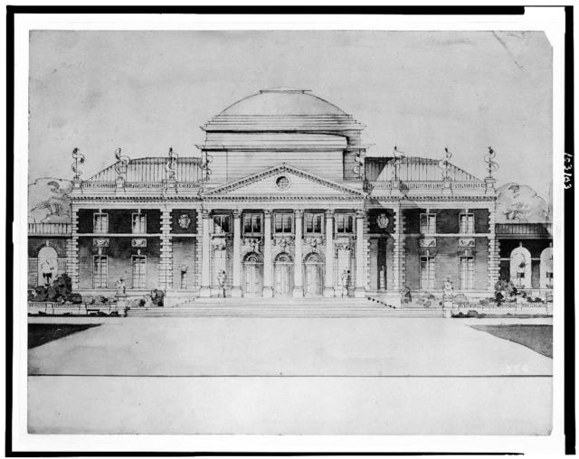 [Administration building (modelled after Monticello) Jamestown Exposition, Virginia]