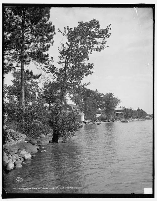 Along the shore of Wolfeborough Bay, Lake Winnipesaukee, N.H.