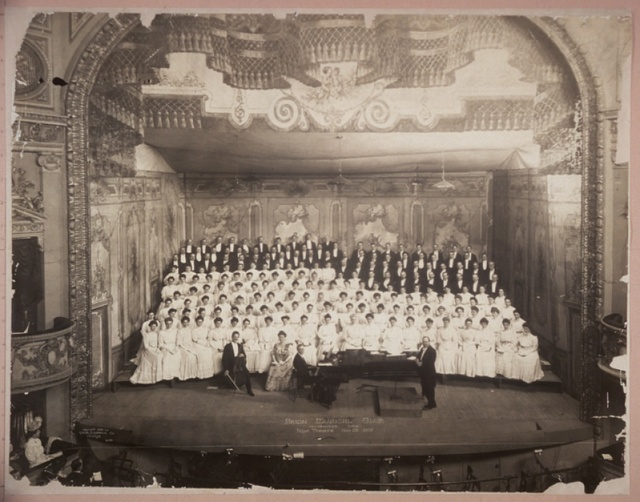 Arion Musical Club, Milwaukee, Wis., Pabst Theatre, Nov. 23, 1906