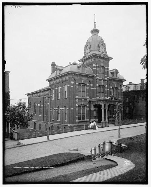 Art museum, Vassar Institute, Poughkeepsie, N.Y.