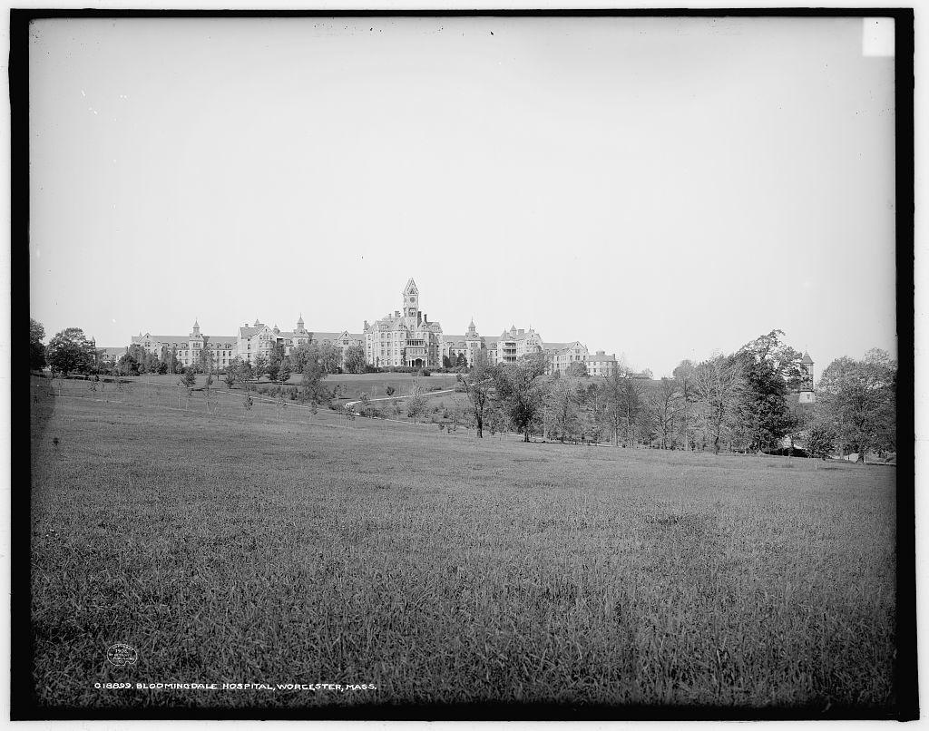 Bloomingdale Hospital, Worcester, Mass.
