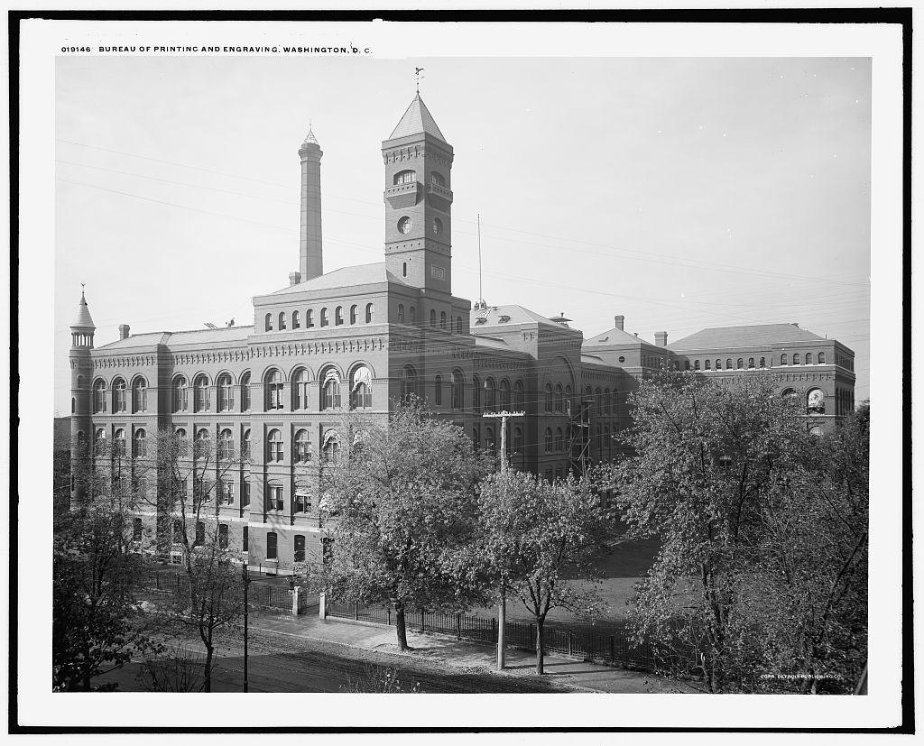 Bureau of Printing and Engraving, Washington, D.C.