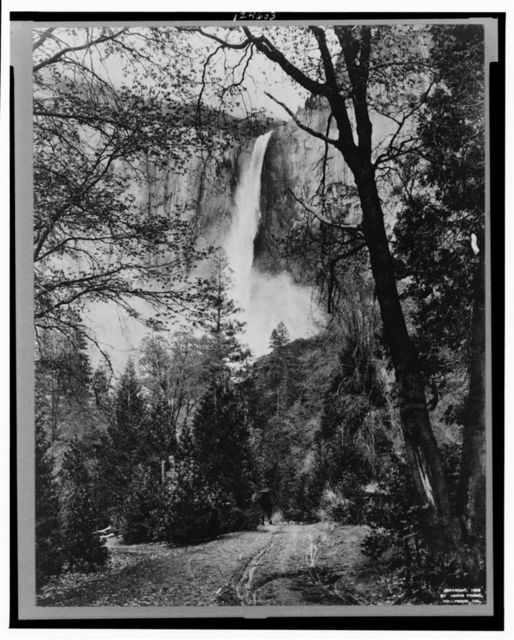 California, Yosemite Valley, Bridal Veil Falls, Wawona Trail