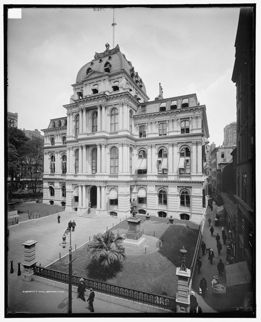 City Hall, Boston, Mass.