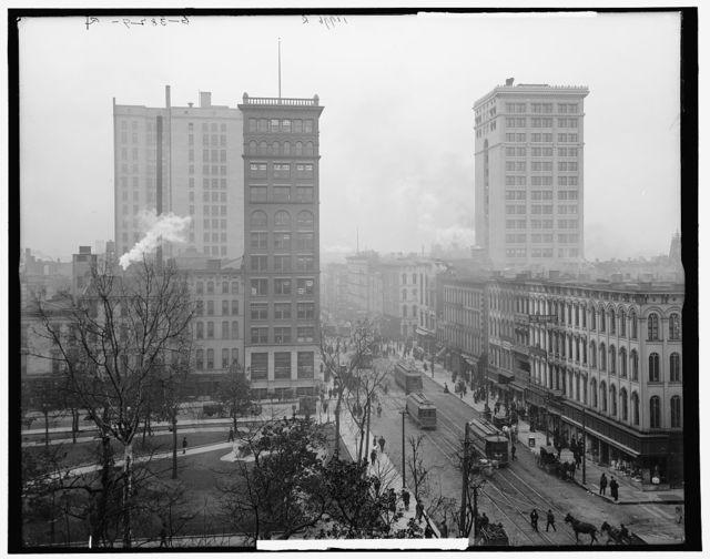 Court Square in Main St., Memphis, Tenn.