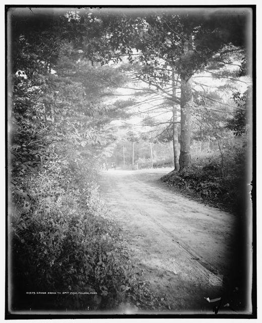 Cross roads to Spot Pond, Malden, Mass.