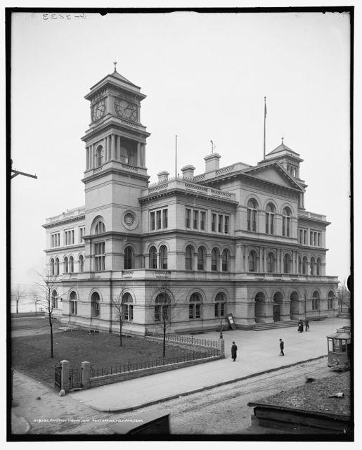 Custom House and Post Office, Memphis, Tenn.