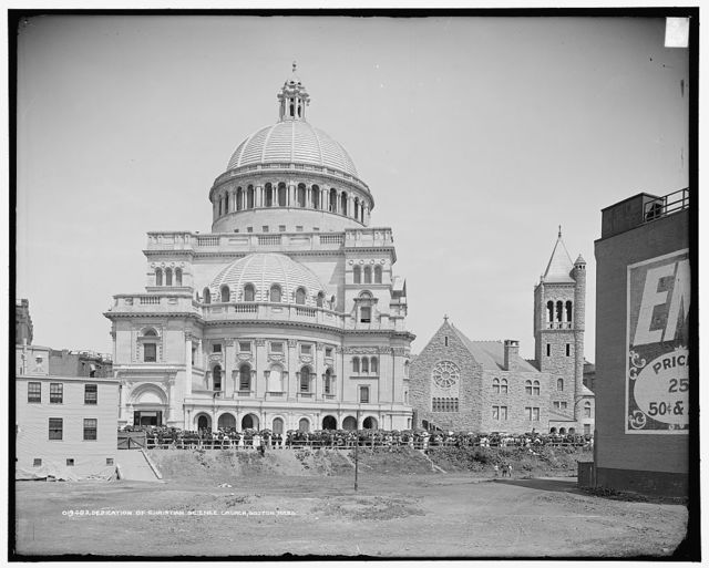 Dedication of Christian Science Church, Boston, Mass.