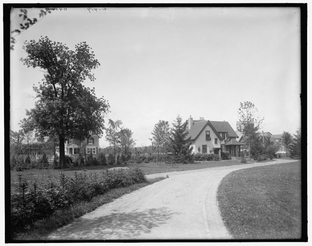[Edward C. Walker residence, in the grounds, Walkerville, Ont.]