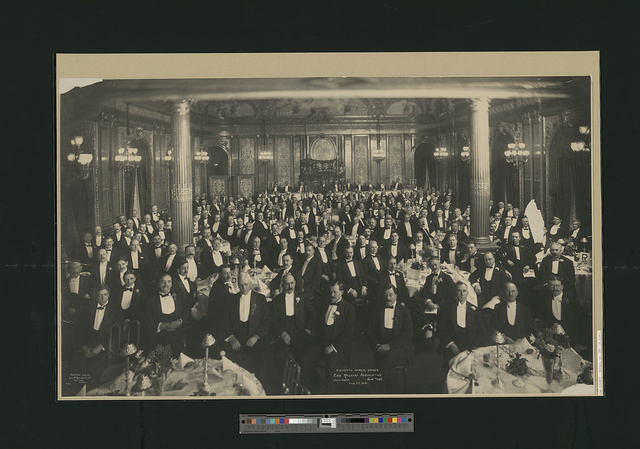 Eleventh Annual Dinner, Erie Railroad Association, Hotel Savoy, New York, Feb. 23, 1906