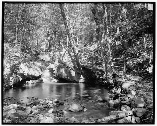 Emerald pool, Ossipee Mt. Park, Lake Winnipesaukee, N.H.