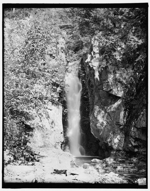 Falls of Song, Ossipee Mt. Park, Lake Winnipesaukee, N.H.