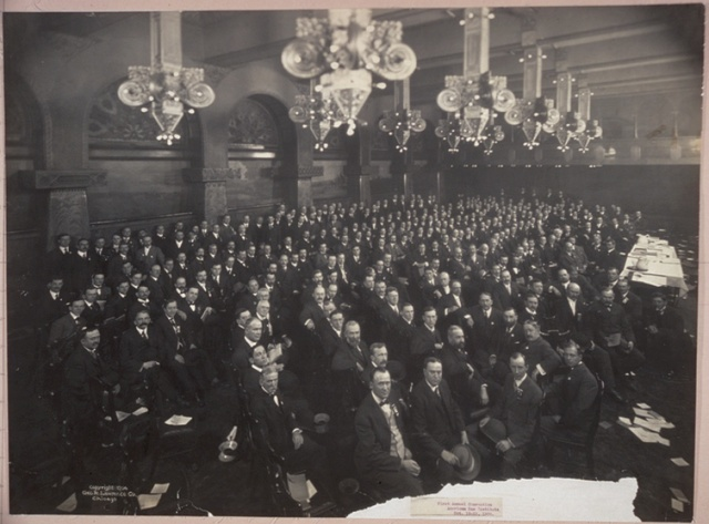 First Annual Convention, American Gas Institute, Oct. 18-19, 1906