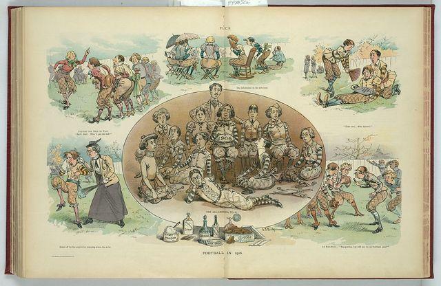 Football in 1906 / J.S. Pughe.