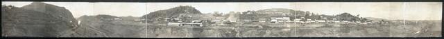 Gavin Hamilton Jack's panorama of city of Stevens and Culebra Cut