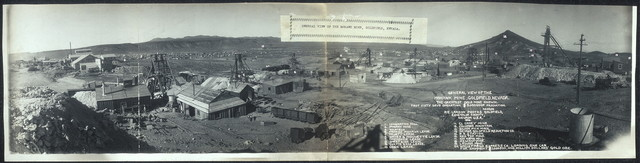 General view of the Mohawk Mine, Goldfield, Nevada
