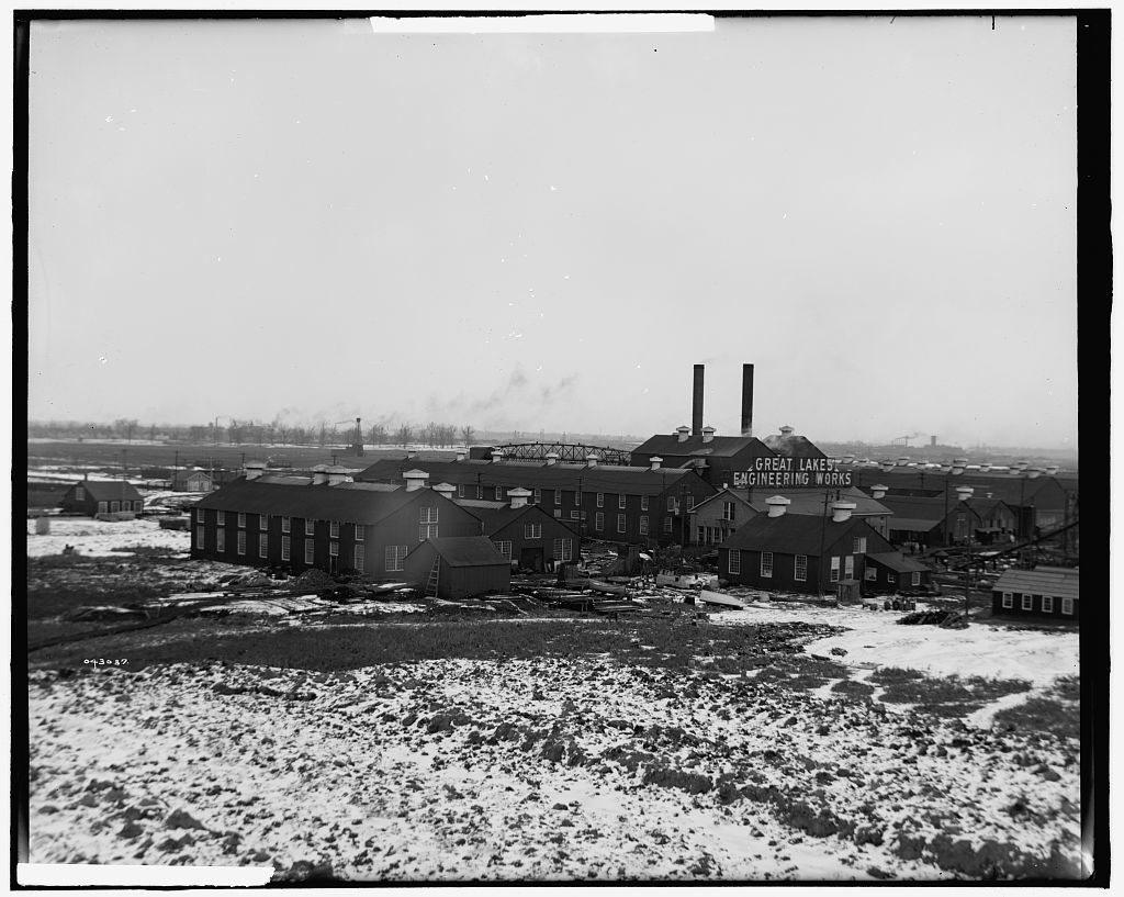 [Great Lakes Engineering Works, Ecorse, Mich.]