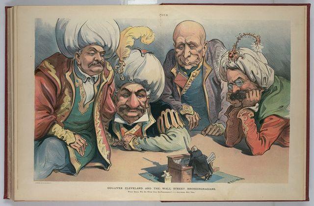Gulliver Cleveland and the Wall Street Brobdingnagians / Keppler.