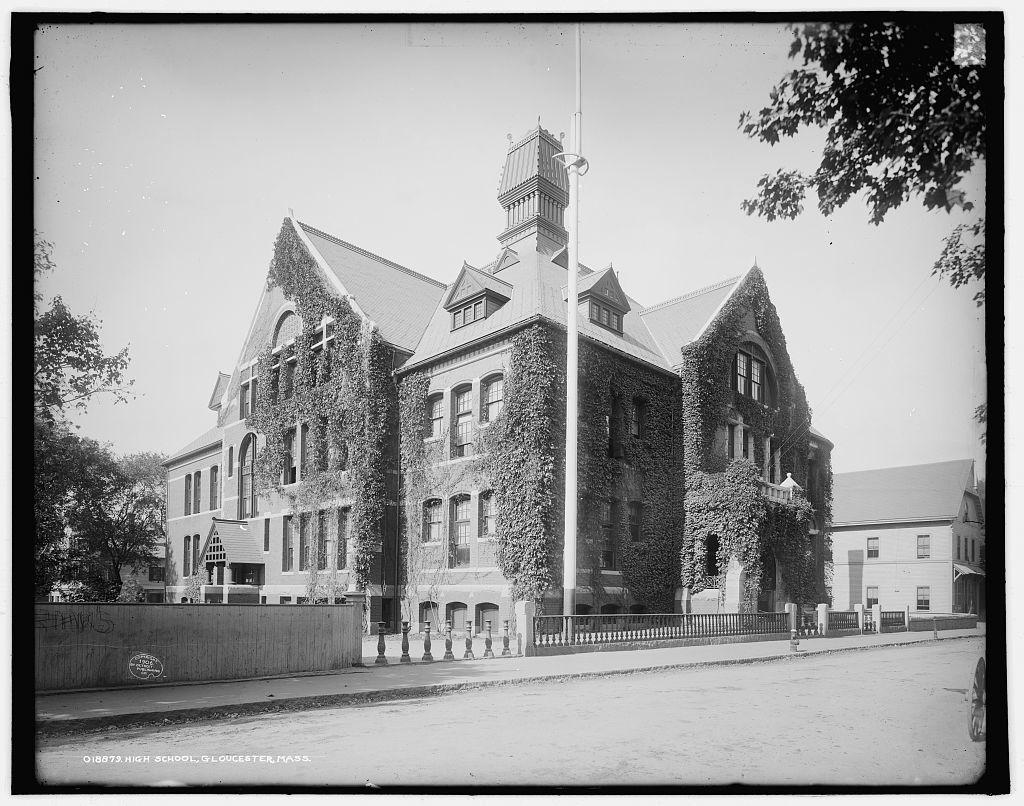 High school, Gloucester, Mass.
