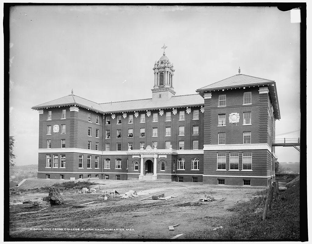 Holy Cross College Alumni Hall, Worcester, Mass.