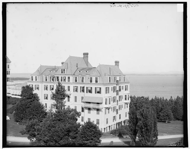 Hotel Champlain and surroundings, Hotel Champlain, N.Y.