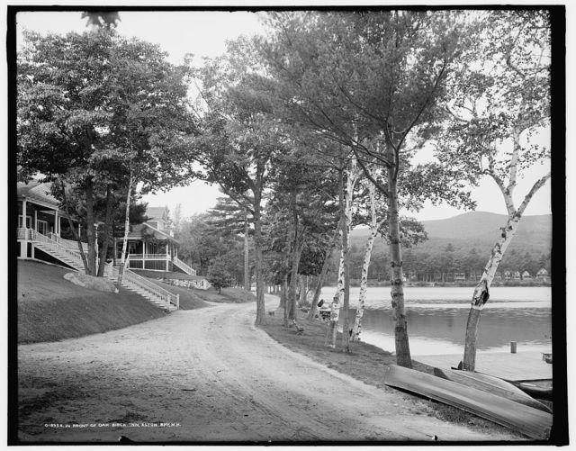 In front of Oak Birch Inn, Alton Bay, N.H.