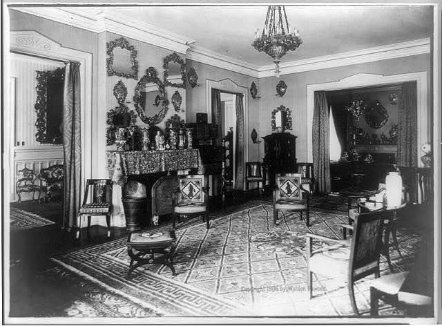 Interior of German Embassy, [Washington, D.C.]