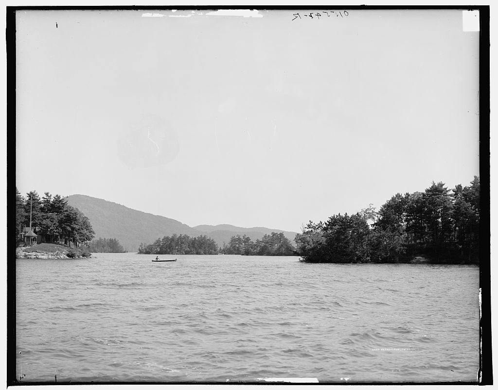 Island harbor, Lake George, N.Y.