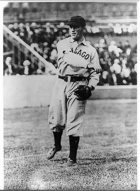 [Jimmy Sheckard, Chicago NL, at Polo Grounds, New York (baseball)]