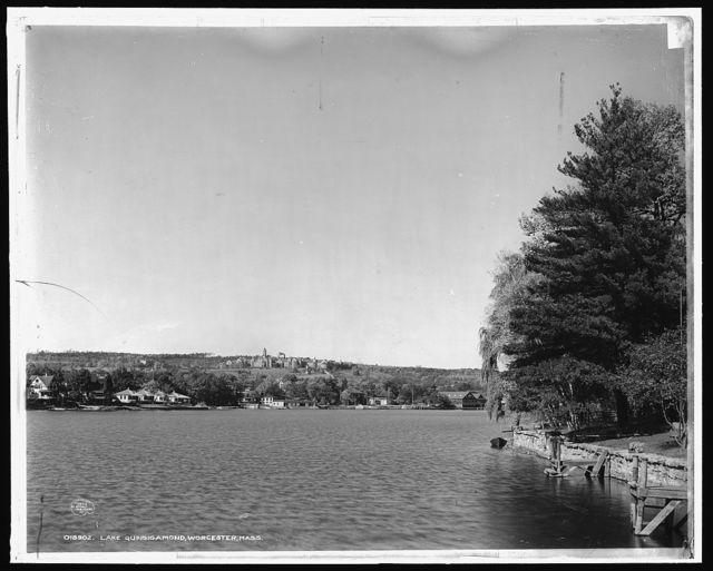 Lake Quinsigamond, Worcester, Mass.