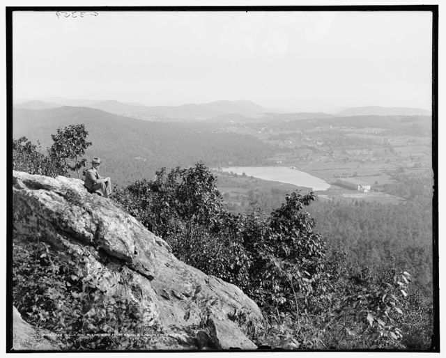 Lake Royer and Buena Vista from Ragged Edge, Pen Mar Park, Md.