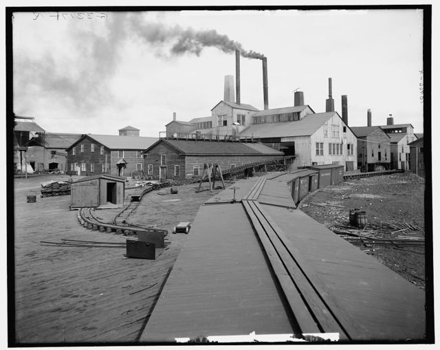 Lake Superior smelter and dock, Dollar Bay, Mich.