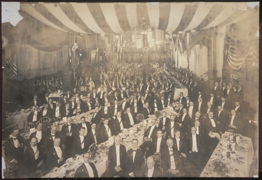 Lipton Banquet at Chicago Athletic Club, Oct. 5, 1906