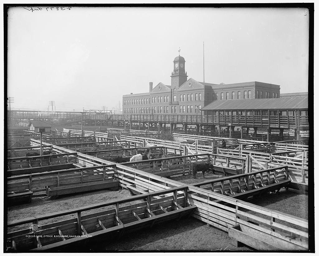 Livestock exchange, Kansas City, Mo.
