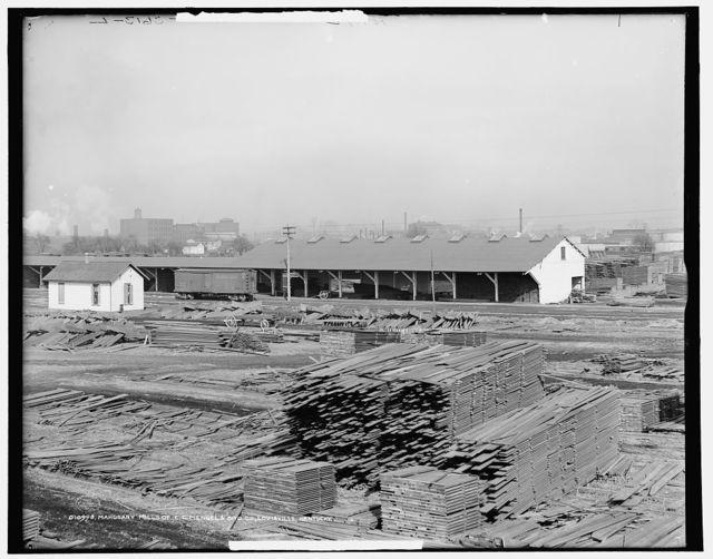Mahogany mills of C.C. Mengel & Bro. Co., Louisville, Kentucky