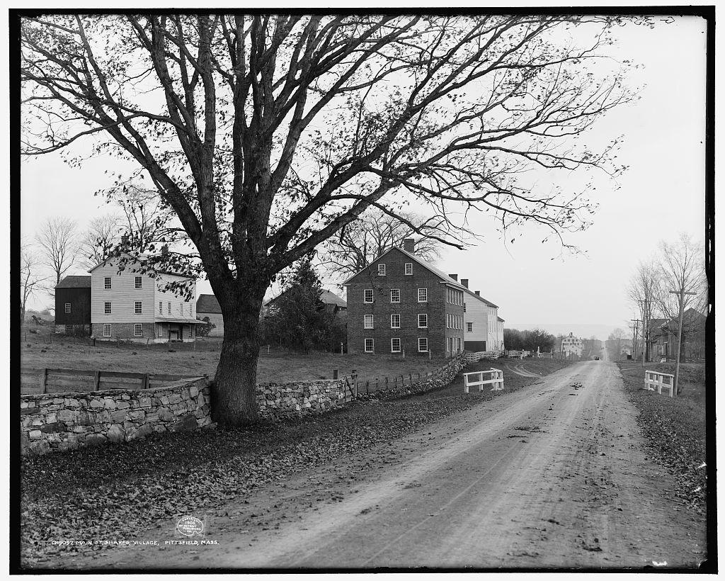 Main St., Shaker Village, Pittsfield [i.e. Hancock], Mass.