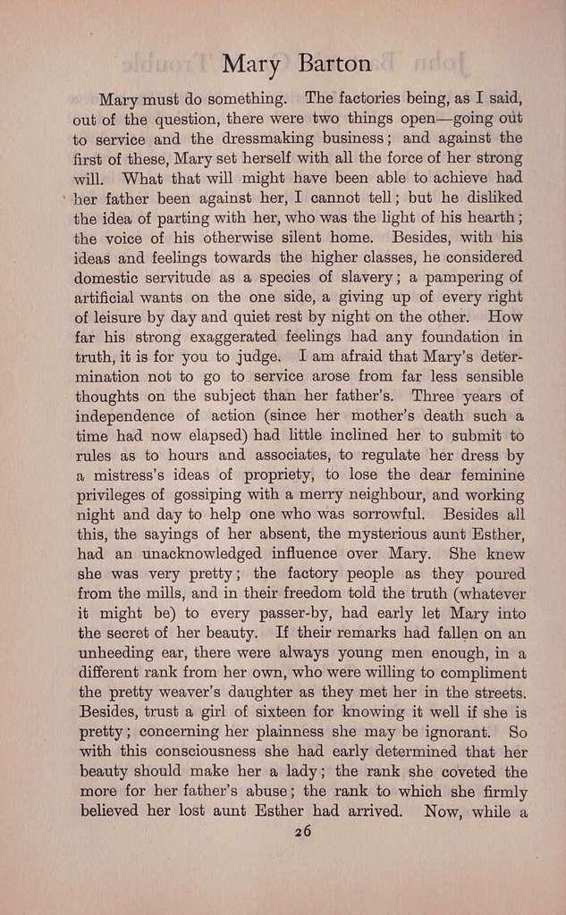 Mary Barton,