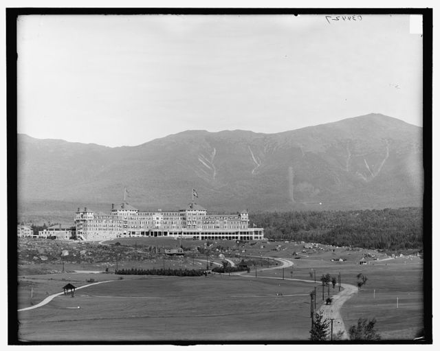[Mount Washington Hotel & Mount Washington, White Mountains, N.H.]