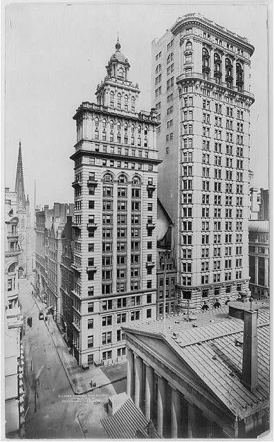 [New York City: Gillender & Hanover Bank Buildings]