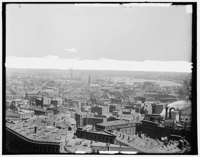 Panorama of Boston, Mass.