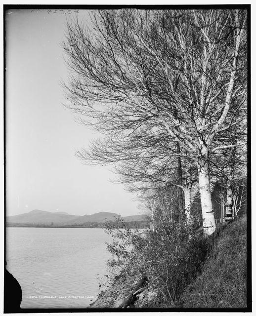 Pontoosuc Lake, Pittsfield, Mass.