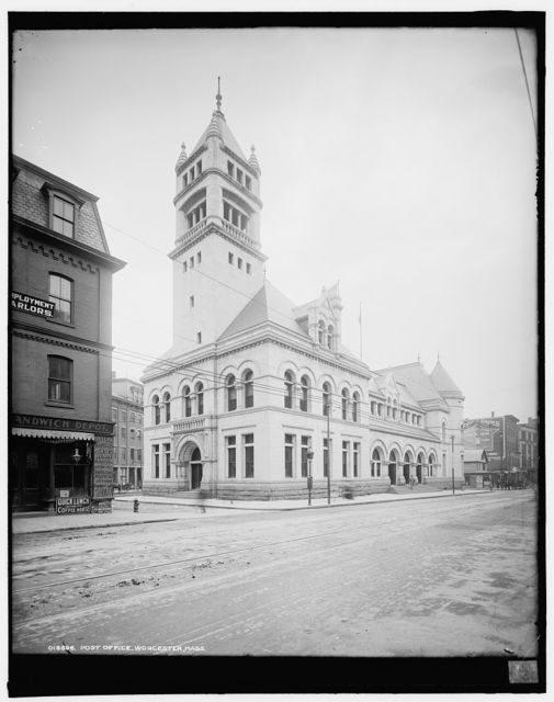 Post Office, Worcester, Mass.