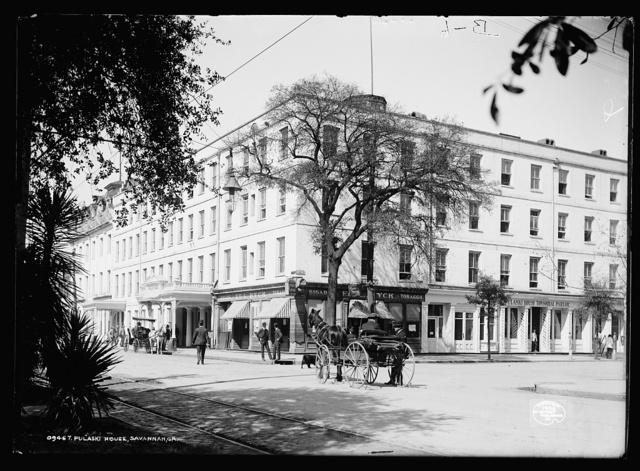 Pulaski House, Savannah, Ga.