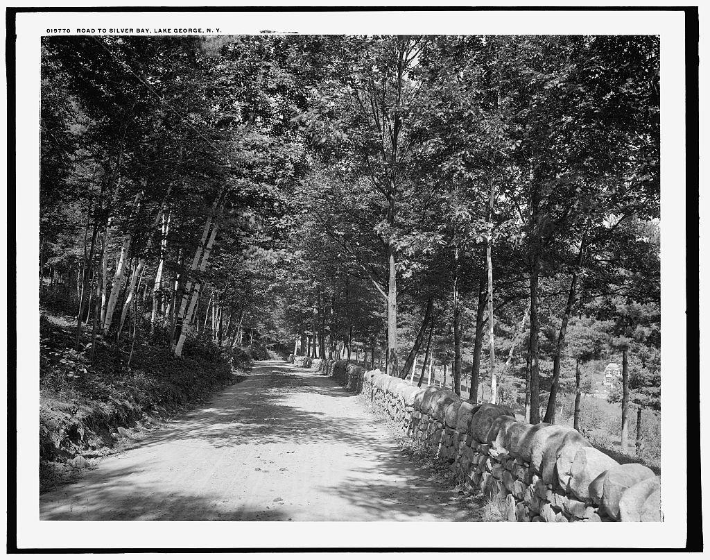 Road to Silver Bay, Lake George, N.Y.